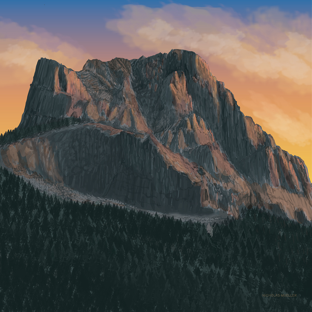 Three Sisters Mountain - Hope